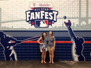 Hope and me at FanFest